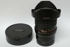 Samyang 3,5/8 mm UMC CS II fishey lente para Canon EOS M modelos usados