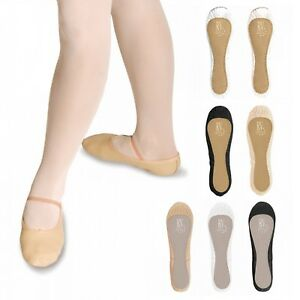 **SPECIAL OFFER** NEW ROCH VALLEY LEATHER CANVAS SATIN BALLET SHOES DANCE PUMPS