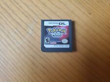 Nintendo DS Pokemon Pearl Version Game Cartridge Only Works Tested Authentic