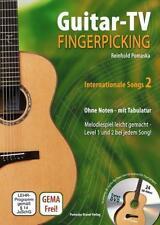 Guitar-TV: Fingerpicking - Internationale Songs 2 (mit DVD) - Reinhold Pomaska