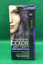 GARNIER COLOR STYLER PURPLE MANIA INTENSE WASH-OUT COLOR Hair Color New in Box