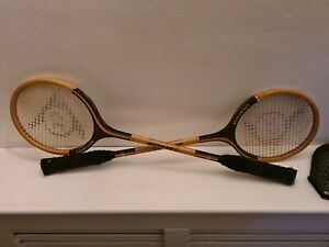 Vintage Dunlop Court Star Rackets