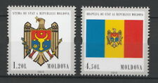 Moldova 2010 Flag / Coat of Arms 2 MNH stamps