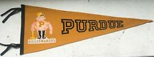 Vintage Purdue Boilermakers Pennant Football Basketball 29""