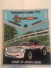 Takachsin Lodge 173 2018 NOAC James Dean Patch Sagamore Council