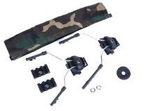 Z-Tactical Helmet Rail Adapter Set For COMTAC I/II/IV Headset on ARC Rail Kit BK