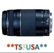Canon EF 75-300mm f/4-5.6 III Telephoto Zoom Lens f/ EOS Rebel XS XSi XT XTi ~C
