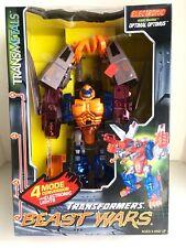 Transformers Beast Wars Optimal Optimus Transmetals Electronic Lights!  TF-1