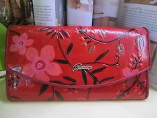 NEW - Sunflowers Arc Cover Lady Leather Wallet with Tags
