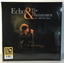 Echo & The Bunnymen It's All Live Now LP Record - 180 gr Vinyl - Limited Edition