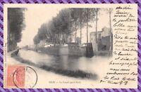 Carte postale - HAM - le canal (petit bief)