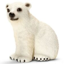 Polar bear cub 14659   strong tough looking Schleich Anywhere's Playground <><
