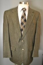 Burberry Super Awesome Mens Size 42 Regular Tweed Blazer Sport Coat