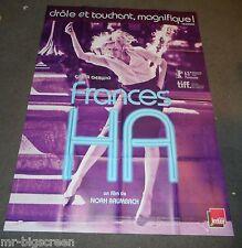 FRANCES HA - ORIGINAL HUGE FRENCH POSTER - GRETA GERWIG - 2013