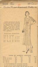 1920s-30s Vintage Sewing Pattern