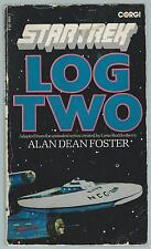 Star Trek Log Two Alan Dean Foster Corgi 1975 Paperback Fair-Good Condition