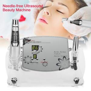 Ultrasound Needle-free Mesotherapy Meso Beauty Machine Freckle Wrinkle Remove