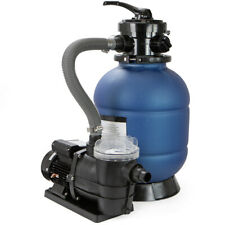 "2400GPH 13"" Sand Filter w/ Valve & 3/4HP Swimming Pump Above Ground Pool Pump"