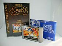 Sonic Spinball | Sega Ozisoft | Mega Drive | Silver Case/Cart | Great condition
