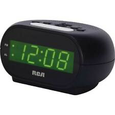 RCA RCD20 Loud Alarm Clock For Heavy Sleeper 7 Inch Display