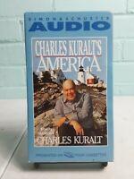 Charles Karult's America by Charles Kuralt (1995, Cassette, Abridged) 4 Tapes