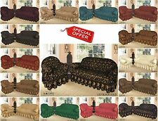 Jacquard (Poly Cotton) Sofa Cover for 1, 2 & 3 Seater  / Alternate to Sofa Throw
