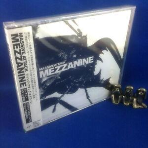 MASSIVE ATTACK: Mezzanine (ULTRA RARE NEW 1998 JAPANESE 1ST PRESSING VJCP-25360)