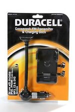 Duracell FM Transmitter Phone Car Charging Dock I phone 4 4s I pod Touch MP3