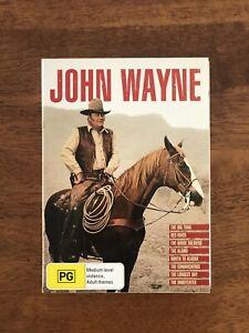 John Wayne dvd movie Collection 8 Movies In This Set Region 4