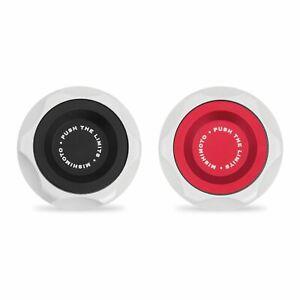 Mishimoto MMOFC-SUB-RD Oil Filler Cap Fits Subaru Red