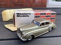 Western Models WMS 48 1964 Rolls Royce Silver Cloud III In Its Box - Near Mint 1