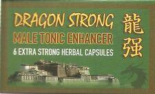 DRAGON LIGHT/STRONG Male Enhancement Pills 6 Natural HERBAL   S