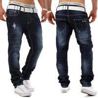 JOGG DENIM Jeans Hose Reject Designer Used Vintage Slim Fit Clubwear Stretch