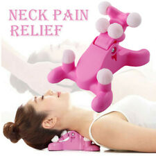 Cervical Pillow Neck And Head Pain Relief Massage Traction Device Support Relax
