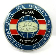 1996 Men's World Ice Hockey Championships Austria Lapel Pin Badge