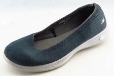 Skechers Go Step Size 9 M navy blue Slip On Walking Fabric Wmn Shoe