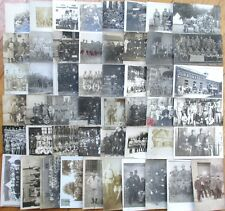 French Military: Collection FIFTY (50) Realphoto Postcards, circa 1910/20 - #3