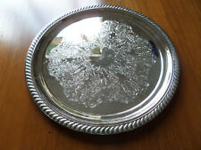 VINTAGE RANLEIGH AUSTRALIAN SILVER PLATED BUTLERS SERVING TRAY.