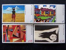 Australian Decimal Stamps: 2003 Australian Paintings - Set of 4 MNH