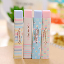 Stripe Candy Color Eraser School Supplies Stationery Rubber Hot 1Pc