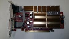 Carte graphique PCI-E MSI GF NX7300GS 256Mb DDR2 TESTED