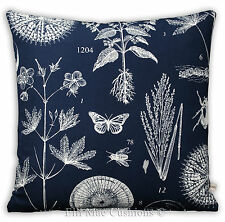 Ikea Blavinge Nature Blue White Fabric Sofa Cushion Pillow Cover