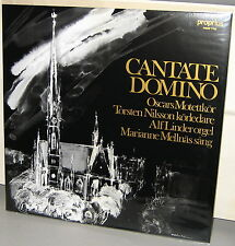 PROPRIUS 7762 LP: CANTATE DOMINO - Various Artists - OOP 2002 SWEDEN UNPLAYED