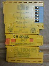 BECKHOFF EL1904  4-channel digital input terminal, TwinSAFE, 24 V DC