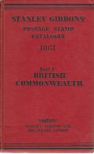 Stanley Gibbons, Part 1, 1961.  British Commomwealth, Ireland +