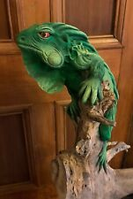 More details for extra large reptile / iguana / lizard. handmade on reclaimed wood - fairtrade