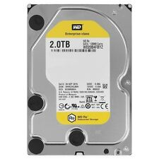 "NEW WD 2TB Re Datacenter 7200 rpm SATA III 3.5"" Internal HDD 128MB Cache"