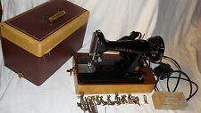 Lovely 1956 Singer Sewing Machine Model 99- Serial #AM302759 w/ Reprinted Manual