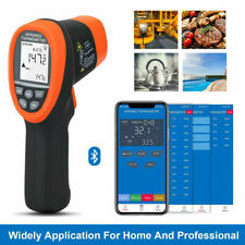 Non Contact Infrared Thermometer 800 App Bluetooth Temperature Test Meters 161