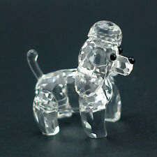 Mini Poodle dog Austrian crystal figurine ornament RRP$99
